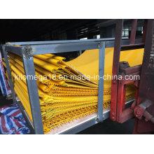 Engranzamento de fio frisado com aço de carbono elevado para o triturador
