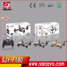 Newest type drone remote control with 2MP HD Camera LCD Transmitter 2.4G 4CH rc Quadcopter SJY-JJRC-F180