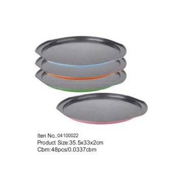 Non-stick coating round sheet pan