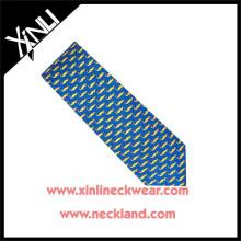 Azo Free Men New Fashion Wholesale Print Tie Silk Screen Prints