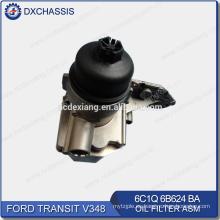 Filtro de aceite del motor genuino para Ford Transit V348 6C1Q 6B624 BA