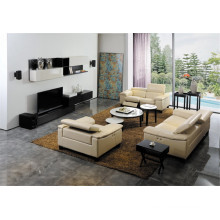 Living Room Sofa with Modern Genuine Leather Sofa Set (427)