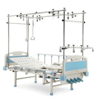 Двухуровневая больничная ортопедическая тяговая кровать