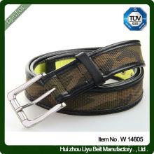 New Design Army Pattern cotton Fabric Belt