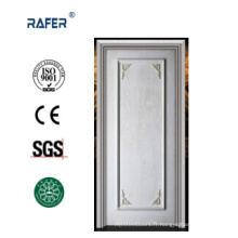 Porte en bois blanc naturel solide (RA-N026)