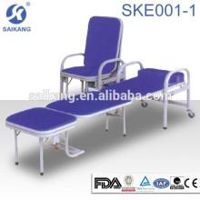 SKE001-1 alta qualidade design moderno multiuso acompanhar Hospital foldable sofá cum cadeira cama