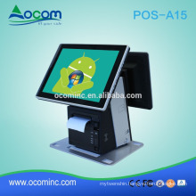 "NEW 15.6"" cheap android pos terminal with printer"