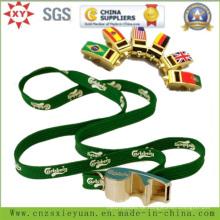 Multi-Fonction Whistle Flaschenöffner Metall Schlüsselanhänger mit Multifunktionsleiste