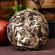 Premium Yunnan white raw cake puer tea, finest puerh China slimming Green food for health care
