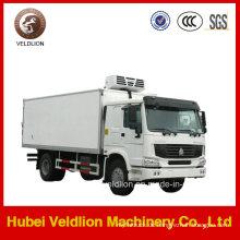 Sinotruk 10 Tonnen gekühlter Van-Fracht-kühler LKW