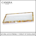 Bathroom Accessories Golden Mother of Pearl Trays