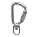 A204KTL Tool Swivel Carabiner Aluminum 8kN Safety Tether Hook