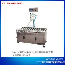 Máquina de llenado de líquidos con sistema de pesaje (CZ-200)