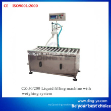 Liquid Filling Machine with Weighing System (CZ-200)
