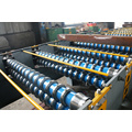 High speed corrugated sheet roll forming machine