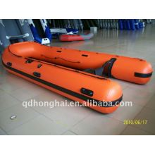 big boat manufacturer 3.8m inflatable boat with ce