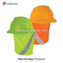Sombrero reflectante de alta visibilidad Sombra del sol Stow-Away Brim perfecto Protege las orejas Neck Face Safety Orange Yellow