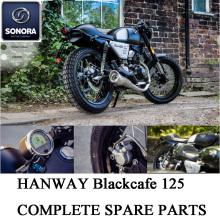 Hanway Blackcafe125 Complete Spare Parts