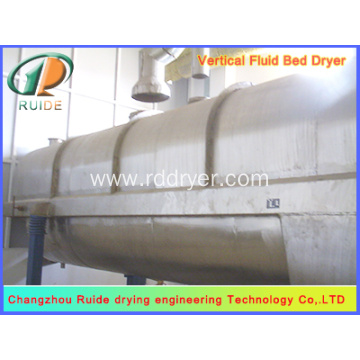 Fluid drying bed machine
