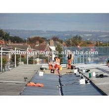 Matériaux imperméables de dessus de toit / membrane en caoutchouc / prix matériel d'EPDM / revêtement d'EPDM