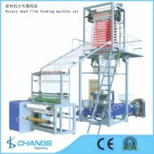 Sj-65r-1200 Conjunto de Máquina sopradora de filme de cabeça rotativa