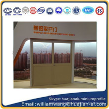 customized aluminium windows of powder coated ,shandong company