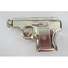 Amazon Vistor Pistole Shape 6oz Hip Flask Silver Color