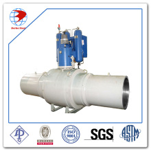 Fully Welded Ball Valve Class 1500 API6d Standard with Welding Pipe at Both Side