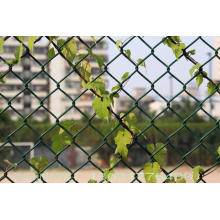 public ground chain link fence