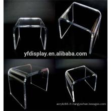 Table en matière acrylique de type U pour les meubles à la maison