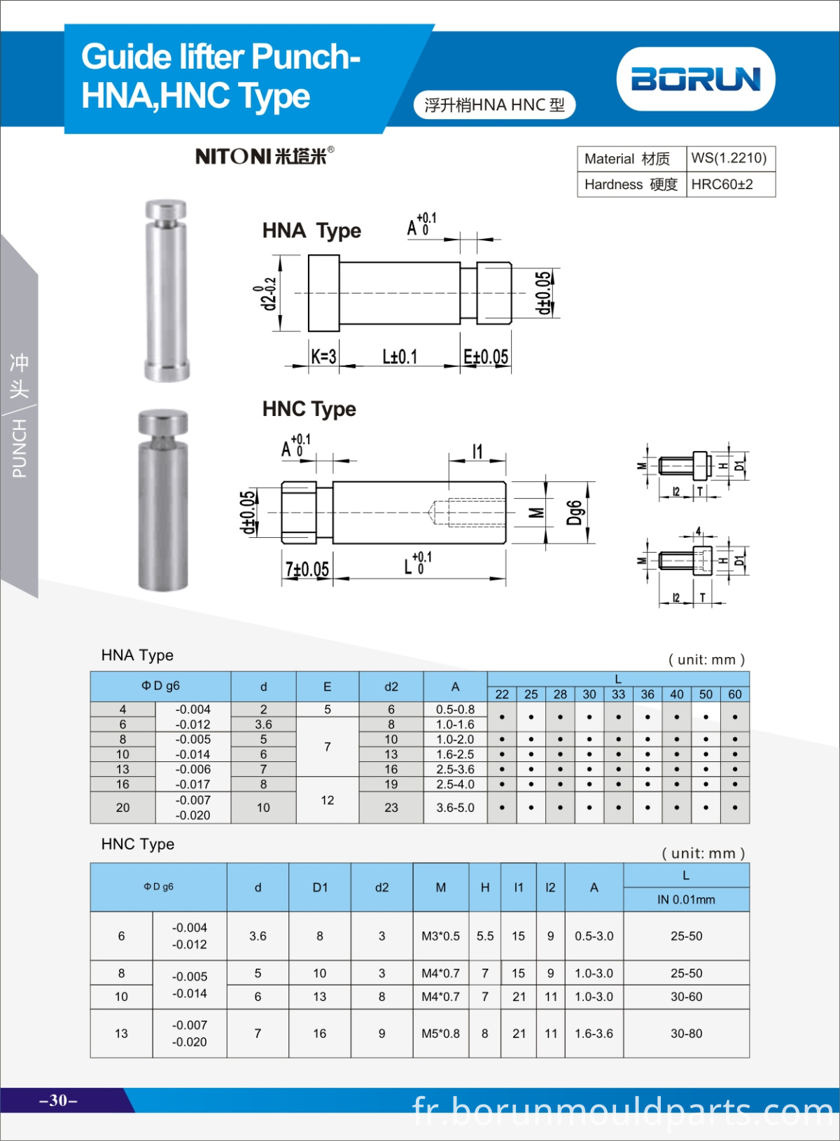 Guide Lifter-HNA HNC