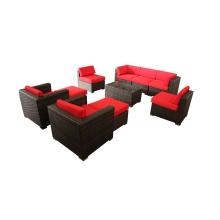 Sofá da mobília de sala define projetos Indoor