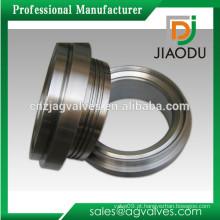China fabricação forjado cromado 1/8 '' ou 1/4 '' 3/8 '' ou 1/2 '' ou 5/8 '' ou 3/4 '' ou 1 '' personalizada latão assento de válvula de assento