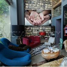 Großhandel Familie Liebe Leinwand Wand Kunst für Kinder Zimmer