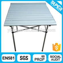 MDF Board aluminum foldable dining table
