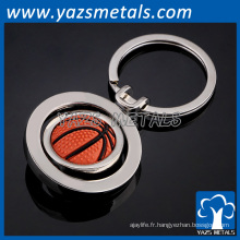 Porte-clés en métal personnalisé