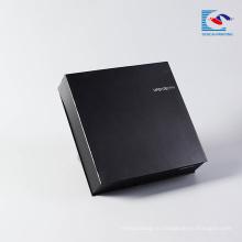 роскошные черные толстые часы подарок матовый черный картонные коробки