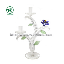 Glass Candle Holders for Home Decoration (22*9.5*32)