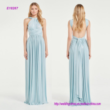 Light Blue Sparkling Multi-Way Bridesmaid Dress