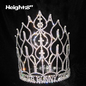 Wholesale Custom Pageant Queen Pearls Crowns