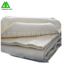 Ouate de coton thermofusible de couleur blanche naturelle fabriquée en Chine
