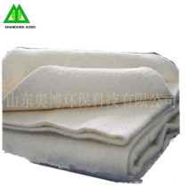 Natural white color quilt hot melt cotton wadding made in China