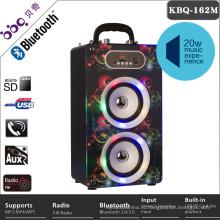 4 дюймов 20 Вт 2000мач микрофон порты верхние дикторы Bluetooth