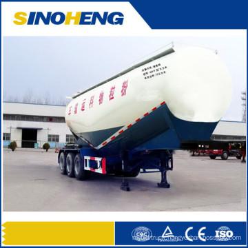 Unloading Bulk Cement Trailers Cement Truck Powder Semi Trailer