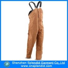 Custom Design Men Khaki Cordura Bib Work Pants