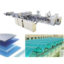 UV Protected Plastic Polycarbonate Sheet Extrusion Equipment