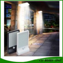 Luces de pared accionadas por el sensor solar a prueba de mal tiempo del LED para al aire libre