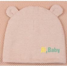 Bebé algodón orgánico de algodón de color sombrero super suave