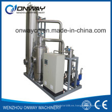 Muy alto eficiente más bajo Consumpiton Mvr de la energía Evaporador de la máquina de la comida de la compresión del vapor