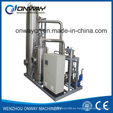 Muy alto eficiente más bajo Consumpiton de la energía Mvr Evaporador Máquina mecánica del compresor del vapor Compresión mecánica del vapor